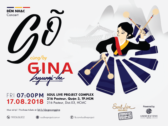 Famous Korean percussionist Gina Hyungi Lee to perform in HCMC