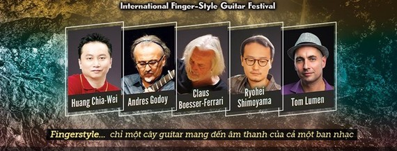 Vietnam Int'l Fingerstyle Guitar Festival 2018 to return to Hanoi