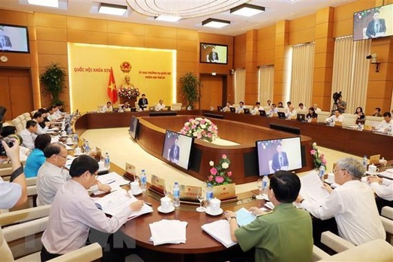 The National Assembly Standing Committee opens its 28th session on October 15. (Photo: VNA)