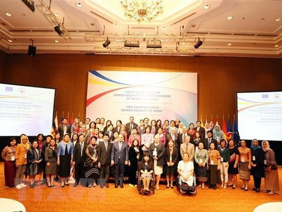 Participants at the dialogue (Source: VNA)