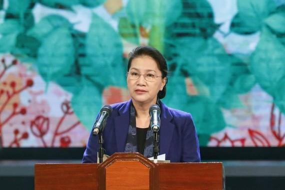 Chủ tịch Quốc hội Nguyễn Thị Kim Ngân kêu gọi chung tay vì người nghèo