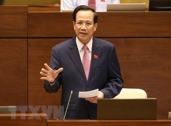 Bộ trưởng Bộ LĐ-TB và XH Đào Ngọc Dung