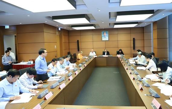 ĐBQH thảo luận tại tổ chiều 8-11