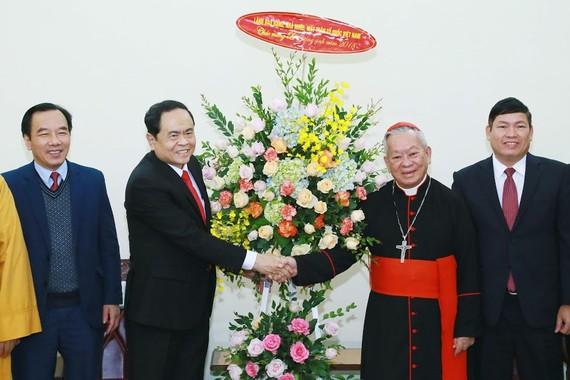 Chúc mừng Hồng y Nguyễn Văn Nhơn, Tổng Giám mục Tổng Giáo phận Hà Nội