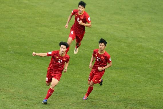 Đội tuyển Việt Nam tạo bất ngờ khi thi đấu thành công tại Asian Cup 2019. Ảnh: AFC