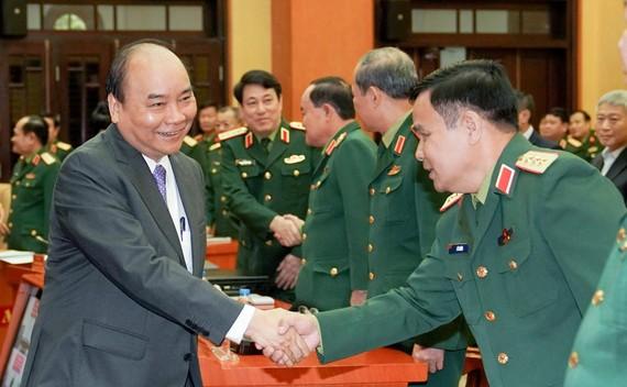Thủ tướng dự hội nghị tổng kết 24 năm thực hiện Pháp lệnh Bảo vệ công trình quốc phòng và khu quân sự