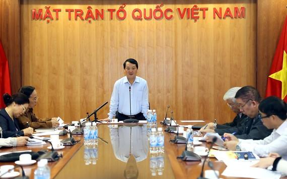 Hội nghị góp ý dự thảo Báo cáo chính trị Đại hội Đại biểu toàn quốc MTTQ Việt Nam
