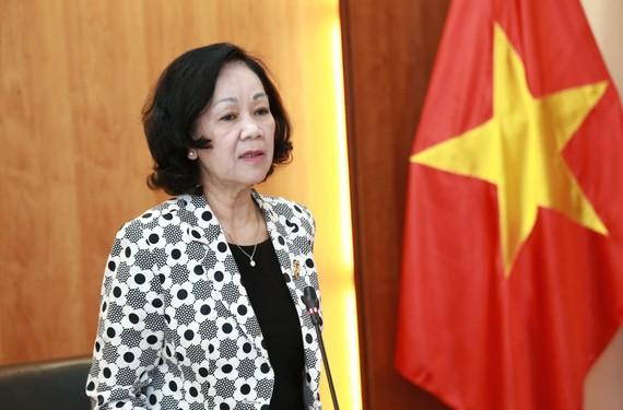 Trưởng ban Dân vận Trung ương Trương Thị Mai
