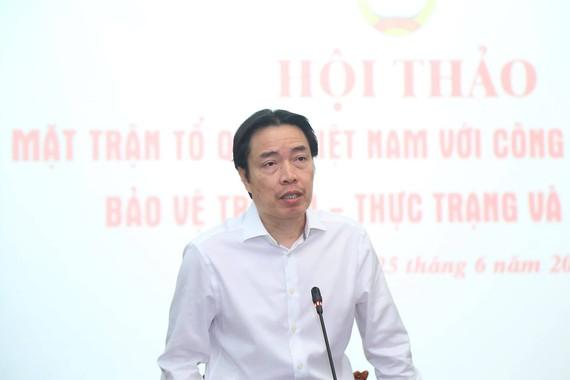 Ông Đặng Hoa Nam phát biểu tại hội thảo