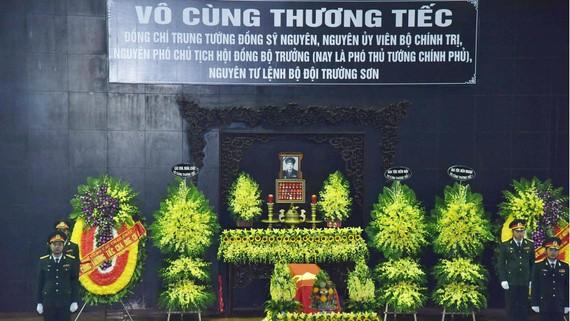 Cử hành trọng thể Lễ tang cấp Nhà nước Trung tướng Đồng Sỹ Nguyên