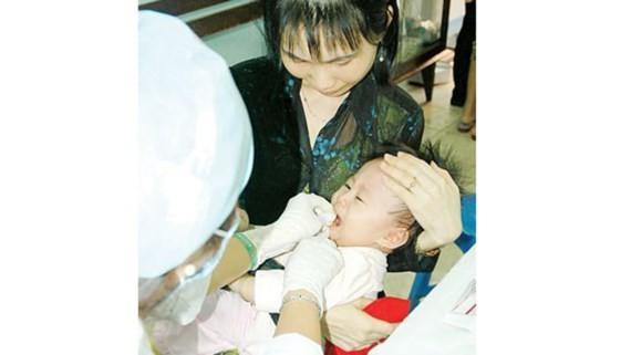 Five million neonates will get vitamine A (Photo: SGGP)