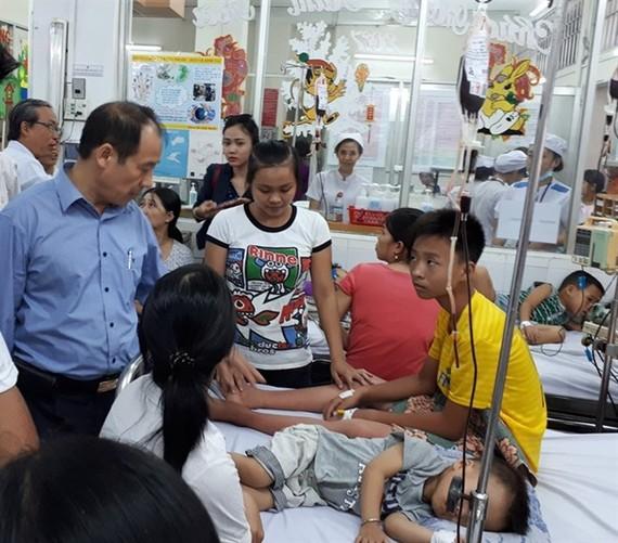 At HCM City's Paediatrics Hospital 1 (Photo: VNA)