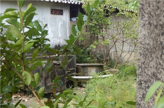 Rice noodle makers in Van Cu Village in the central province of Thua Thien-Hue have built tanks to filter untreated wastewater from the production process. – Photo baotainguyenmoitruong.vn