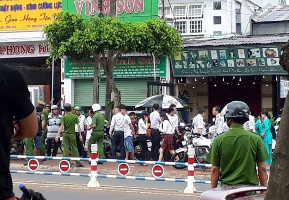 Bank robbery under investigation in Dong Nai Province