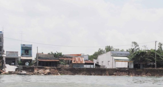 Loss from landslide over $3.9 million