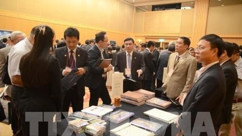 At the Vietnam-Japan Investment Cooperation Forum in Yokohama, Japan. (Photo: VNA)
