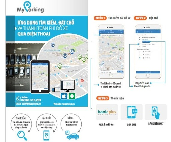 Parking fee payment through mobile piloted in HCMC's downtown