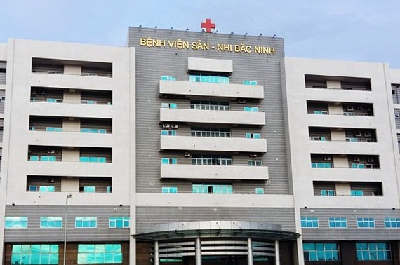 The Hospital of Obstetrics and Pediatrics in the northern province of Bac Ninh (Photo: SGGP)
