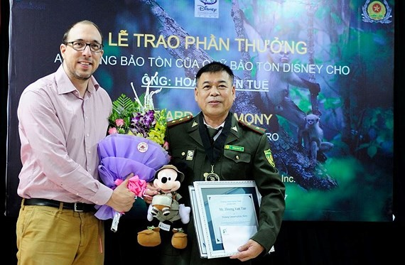 Forest ranger awarded Disney Conservation Fund