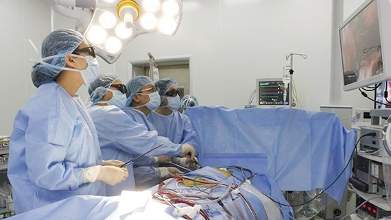 Technology 3D applied for operating atrial septal defect