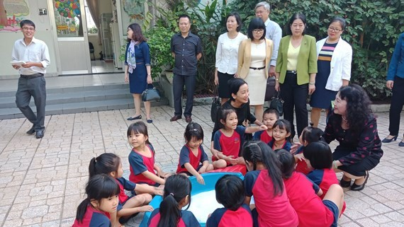 Deputy Education Minister encourages schools to keep workers' kids
