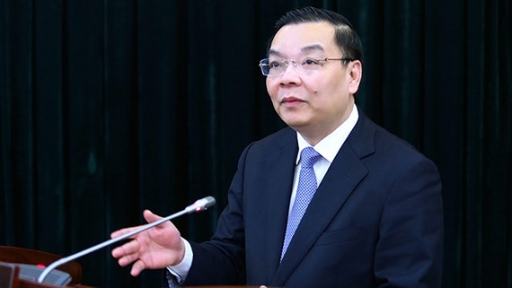 Minister of Science and Technology Chu Ngoc Anh