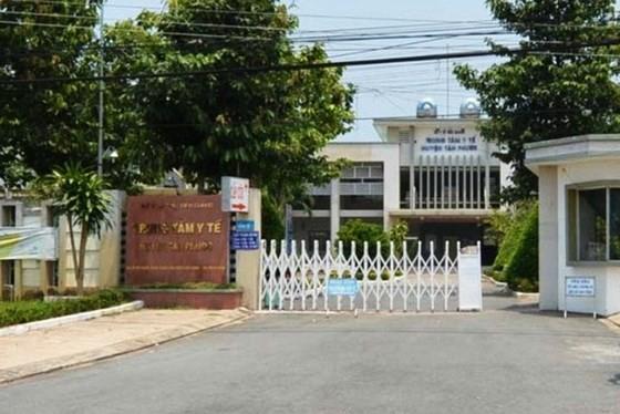 Medical clinic of Tan Phuoc District (Photo: SGGP)