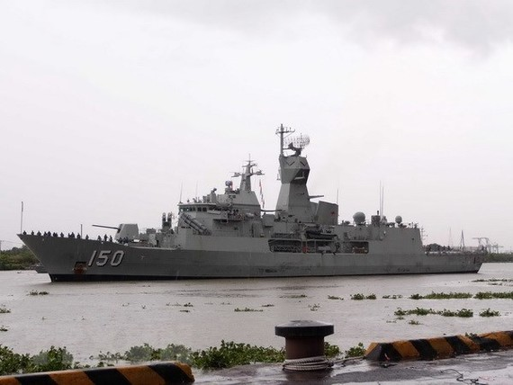 Royal Australian Navy frigate HMAS Anzac (Photo: VNA)