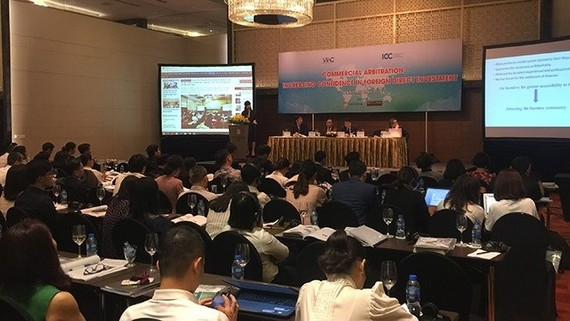 An overview of the seminar on commercial arbitration (Source: VNA)