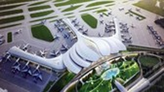 Artist impression of Long Thanh Airport