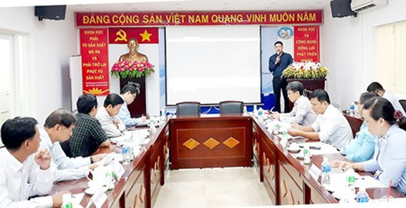 The introduction of innovative models to representatives of districts in Ho Chi Minh City