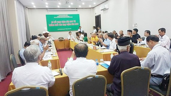 Religions take part in environmental protection activities