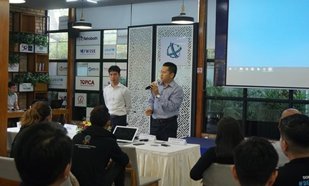 Startups taking part in the program