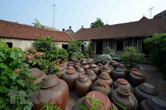 A house in Duong Lam ancient village in Son Tay township, Hanoi (Photo: VNA)