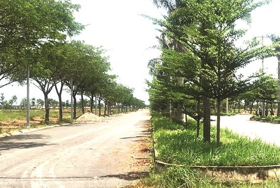 A new residential area is set up in Cu Chi District (Photo: SGGP)