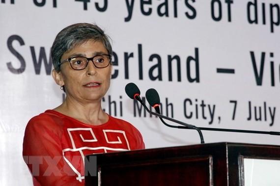 Swiss Ambassador to Vietnam Beatrice Maser Mallor (Photo: VNA)