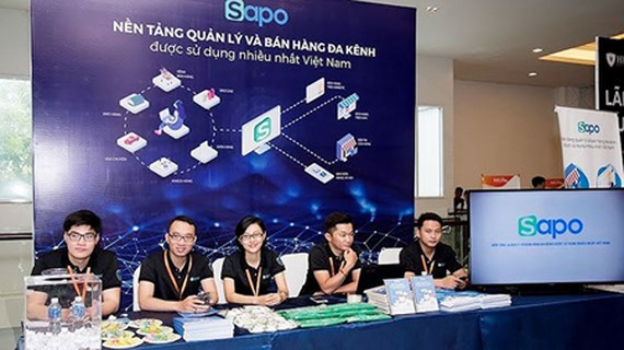 Sapo's employees at the event MEDay