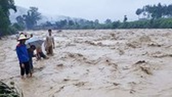 Fourteen dead, missing after Bebinca triggers flash flooding, landslides