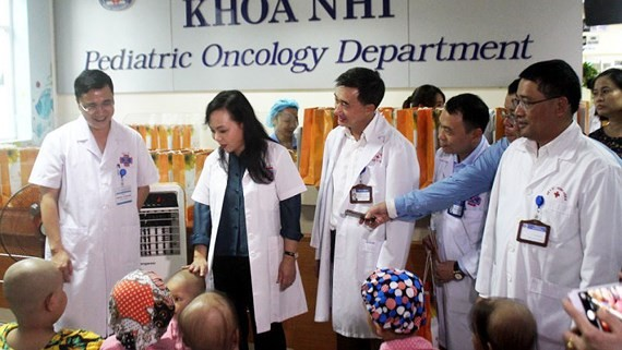 Ninety cancer kid patients gifted