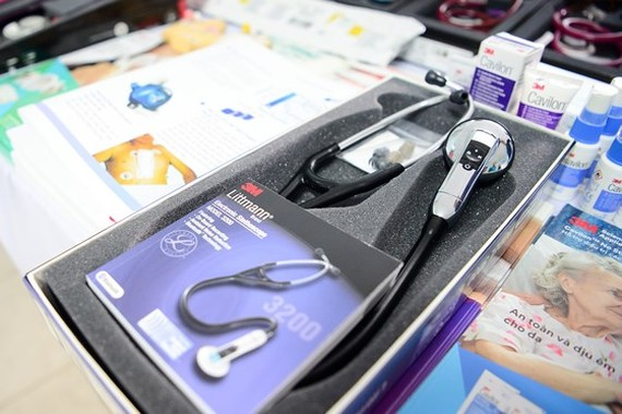 Medical equipment in the program (photo: SGGP)