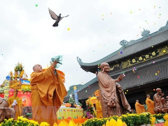 Vietnam will host the United Nations Day of Vesak Celebrations in 2019 from May 12-14 next year (Photo: VNA)