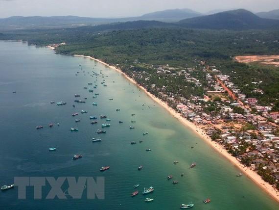 A corner of Phu Quoc island district (Source: VNA)