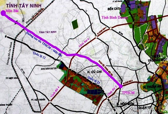 $450.7 million allocated for building HCMC-Moc Bai expressway