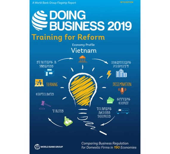 Vietnam drops one place in WB's Doing Business 2019