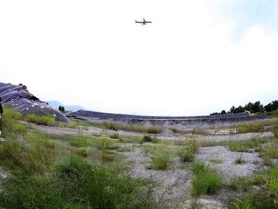 The project site at Da Nang Airport (Photo: VNA)