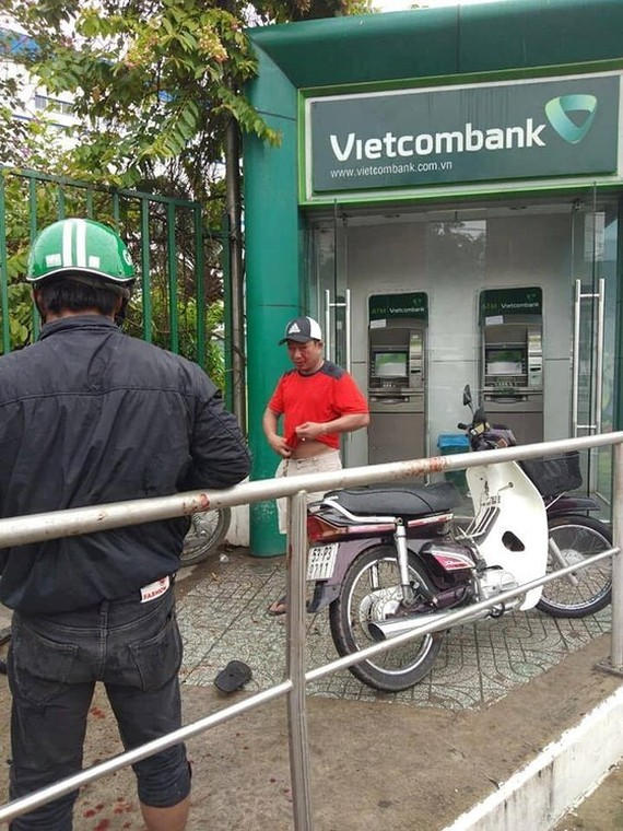 Man arrested for trying to rob ATM customer by chilli powder