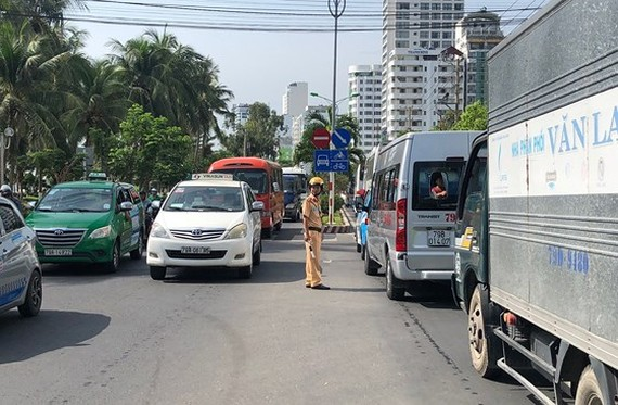 Nha Trang City faces traffic congestion