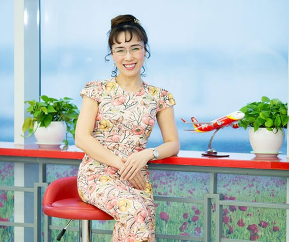 Vietjet President & CEO in Forbes' World 100 Most Powerful Women list