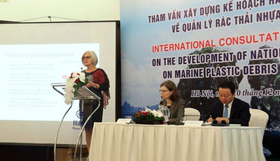 First consultation workshop on Vietnam's national marine plastic action plan