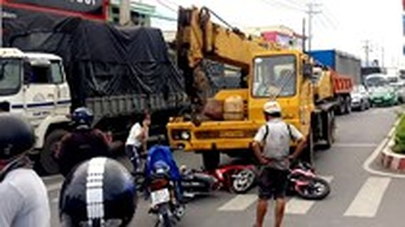 Traffic accidents surge in New Year Holiday, killing 110